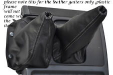 GREY STITCHING FITS NISSAN PATROL Y60 LEATHER GEAR GAITER SHIFT BOOT ONLY