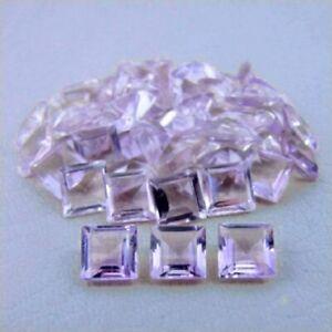 Natural-Pink-Amethyst-Square-Cut-8x8-MM-8-15-Cts-03-Pcs-Lot-Loose-Gemstones