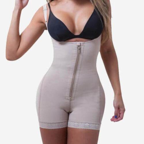 Fajas Colombianas Full Body Shaper Post Surgery Shapewear Tummy Control Suit