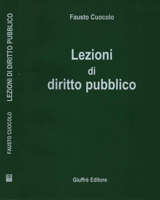 Lezioni di diritto pubblico. . 2001. .