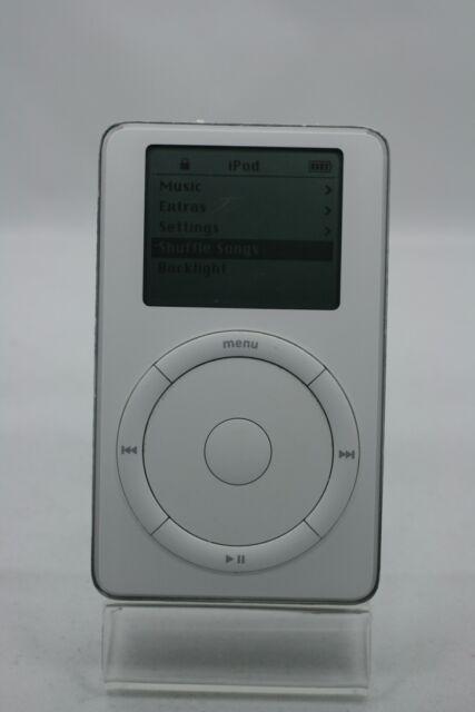 apple ipod classic 2nd generation white 20 gb ebay. Black Bedroom Furniture Sets. Home Design Ideas