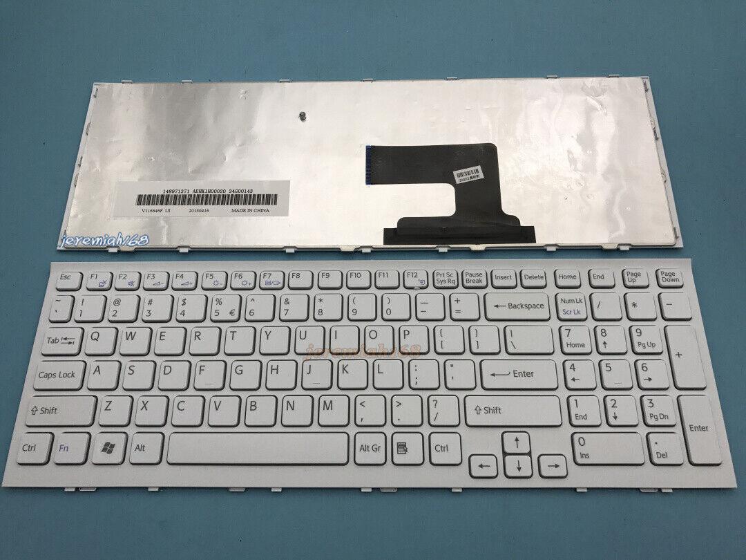 For Sony VAIO PCG-71911L PCG-71912L PCG-71913L PCG-71914L English Keyboard White