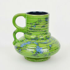 Vintage Vase 1304-30-14 / Fat Lava Grün Blau / W. Germany / German Pottery / WGP