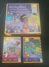 NEW Goldie Blox and the Parade Float Construction Building Toy PLUS 2 SETS
