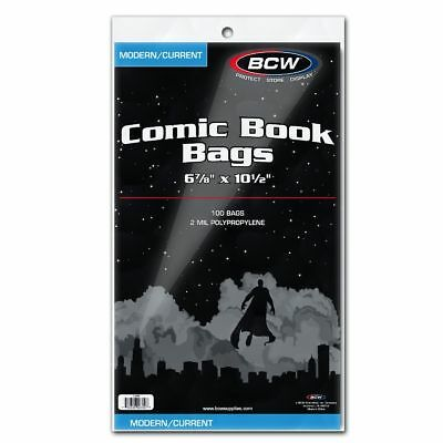Ultra Pro Comic Bags Current//Silver//Gold//Mag 100//200//500//1000 Regular//Resealable