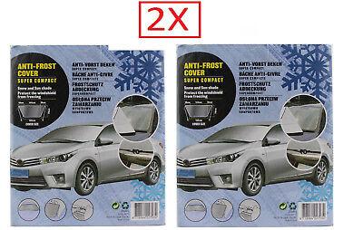 Thermo Auto Scheibenschutz XXL Front Scheibenabdeckung Winter+Sommer 70 x 180cm