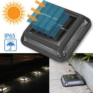12-LED-IP65-LUCE-LAMPADA-FARO-PAESAGGIO-SEPOLTO-TERRA-PER-SCALE-SOLARE-ESTERNO