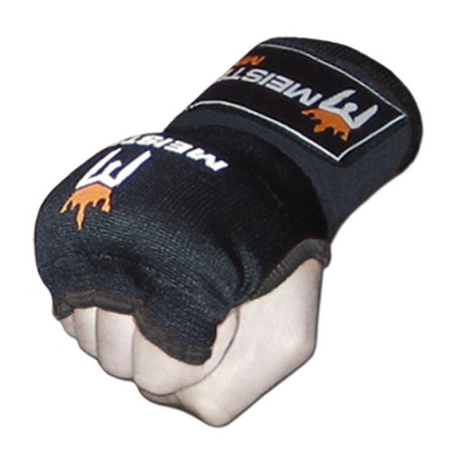 MEISTER PADDED PROWRAPS Inner Hand Wraps Gloves MMA Boxing Wrist Fight PAIR