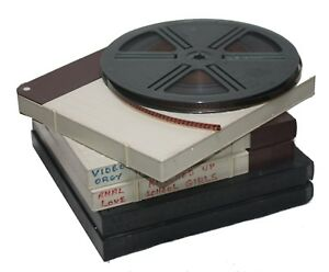 "5 x ""R"" Rate 500 feet Super 8mm sound,Kings Cross movies.-70's collectors item."
