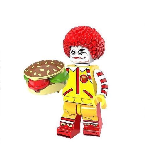 Ronald McDonald Hamburglar Action Mini Figur Sammler McDonalds Clown Figuren NEU