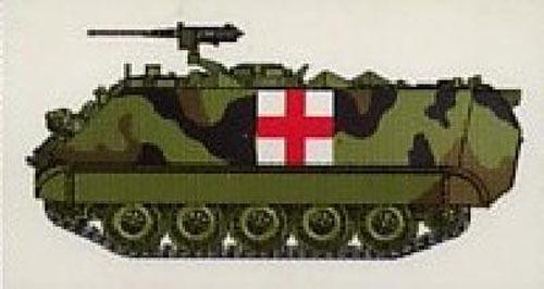 EASY MODEL 1//72 n° 035007 US ARMY AMBULANCE Char US M113A1//ACAV