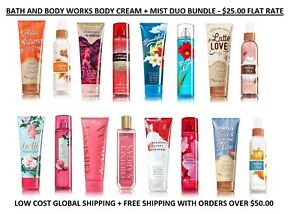 3bfeb85a2c3d5 Bath and Body Works 2 Piece Combo Body Cream + Fragrance Mist Pick 1 ...