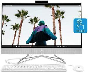 """HP 27"""" FHD IPS Touchscreen AIO Desktop (Ryzen 5 4500U, 16G, 512G) 27-dp0160"""