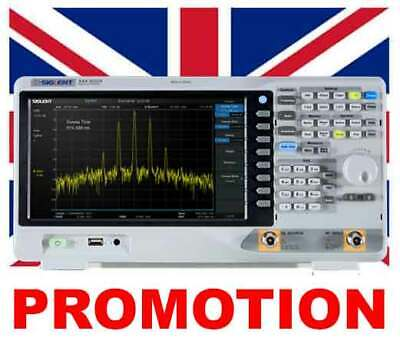 SIGLENT SSA3021X Spectrum Analyzer 9 kHz up to 2.1 GHz Tracking Generator Option Included