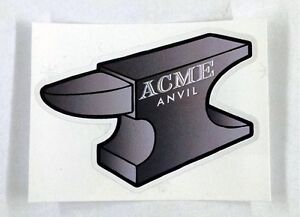 """Acme Anvil looney tunes Wile E coyote sticker decal 4""""x3"""""""