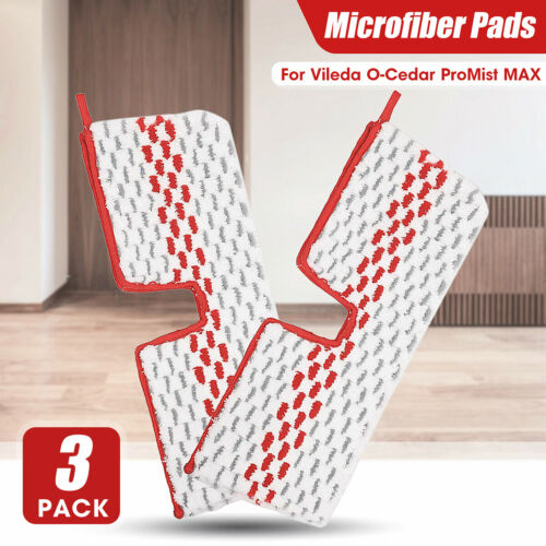 Spray Replacement Microfibre Pads Mop Head Refill for Vileda Easy Clean