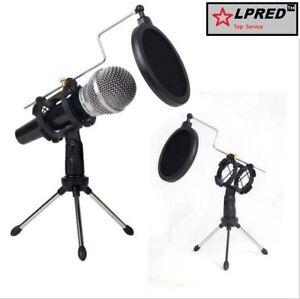 Professional-Broadcasting-Studio-Recording-Condenser-Microphone-Tripod-Stand-Kit