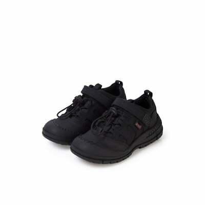 15567 Boys School Shoes Black Size 12.5