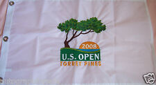 2008 US Open Torrey Pines Embroidered golf pin flag Tiger Woods 14th major win