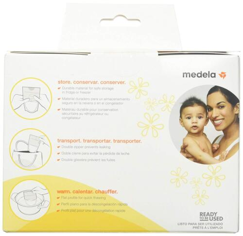 Medela Breast Milk Storage Bags 100 Count Ready To Use Milk Storage Bags For Br