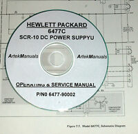 Hp 6477c Power Supply, Operating & Service Manual