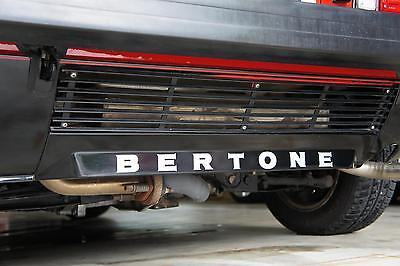 "New 1974-1988 FIAT Bertone X1/9 ""BERTONE"" Lower Rear Bumper Decal X19"