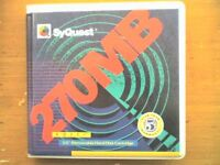 SYQUEST 270Mb Disk - 1 Pack (1 Disk) - PC Formatted - USED - TESTED - GC.