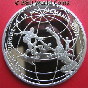 2004-PERU-UN-1-NUEVO-SOL-80oz-SILVER-PROOF-2006-FIFA-WORLD-CUP-SOCCER-FOOTBALL