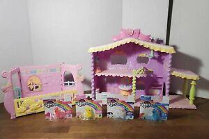 My-Little-Pony-Newborn-Cuties-Sound-amp-Light-House-Play-set-Bonus-New-Ponies
