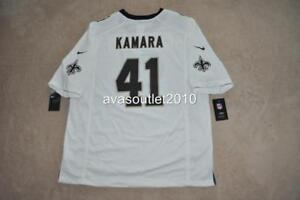 ALVIN KAMARA Jersey  41 New Orleans Saints Nike Game Jersey White ... a8567f19f