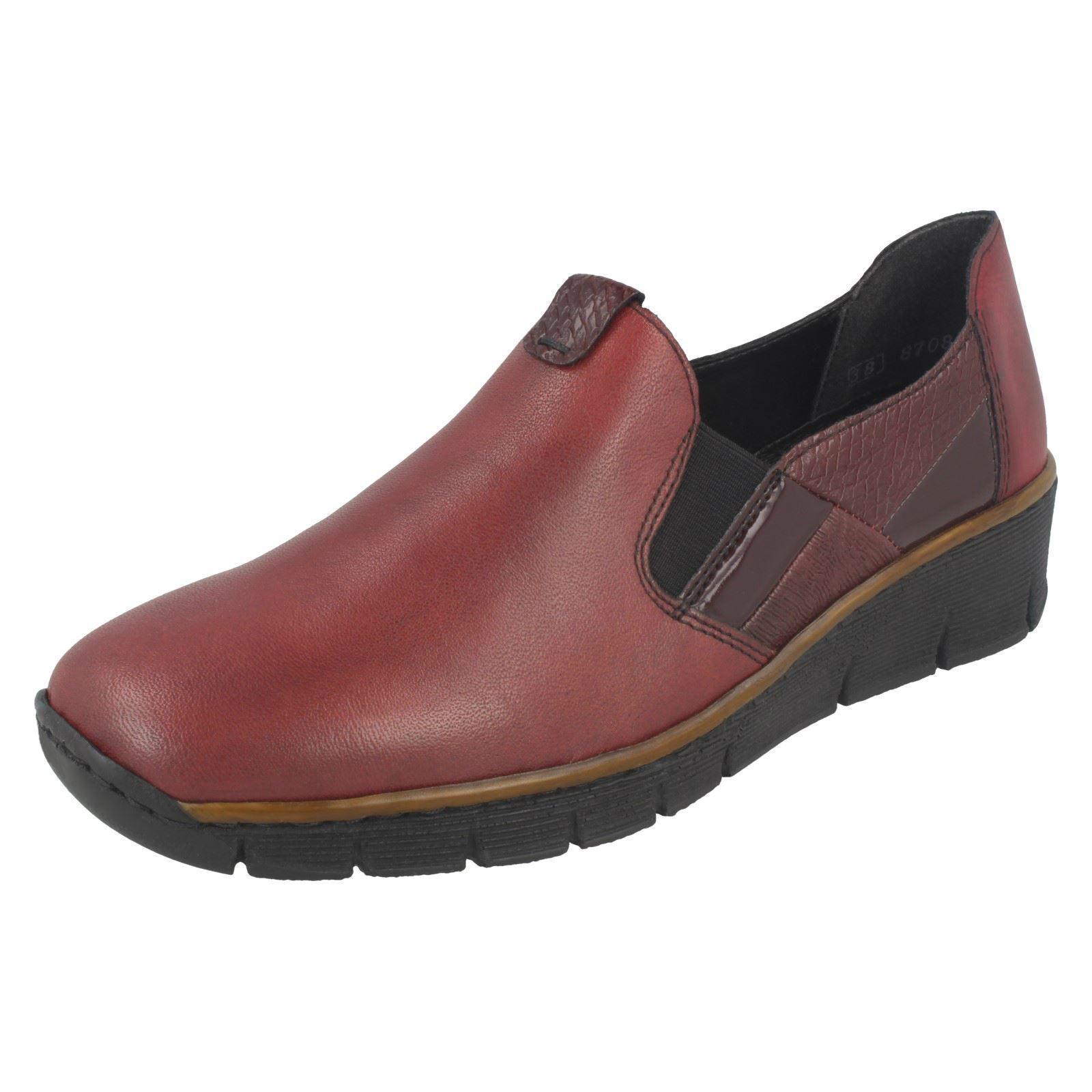 Rieker Damen Freizeitschuhe 53754 Günstige und gute Schuhe