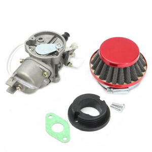 Pocket-Dirt-Bike-Carburetor-Carby-Carb-Air-Filter-Stack-47Cc-49Cc-Moto-Qua-JE