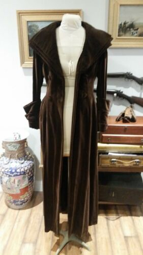 THEA PORTER LONDON COUTURE EVENING COAT CIRCA 1960