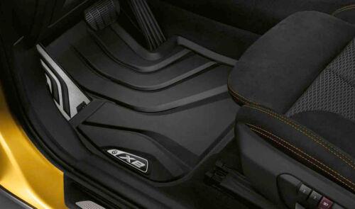 Original BMW X2 F39 Allwetter Fussmatten Set Vorne+Hinten LHD 2452201 2452204