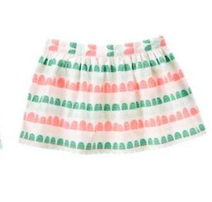 Girls' Clothing (newborn-5t) Gymboree Island Cruise Girls Neon Pink Geo Print Skirt Nwt 5t Neither Too Hard Nor Too Soft Baby & Toddler Clothing