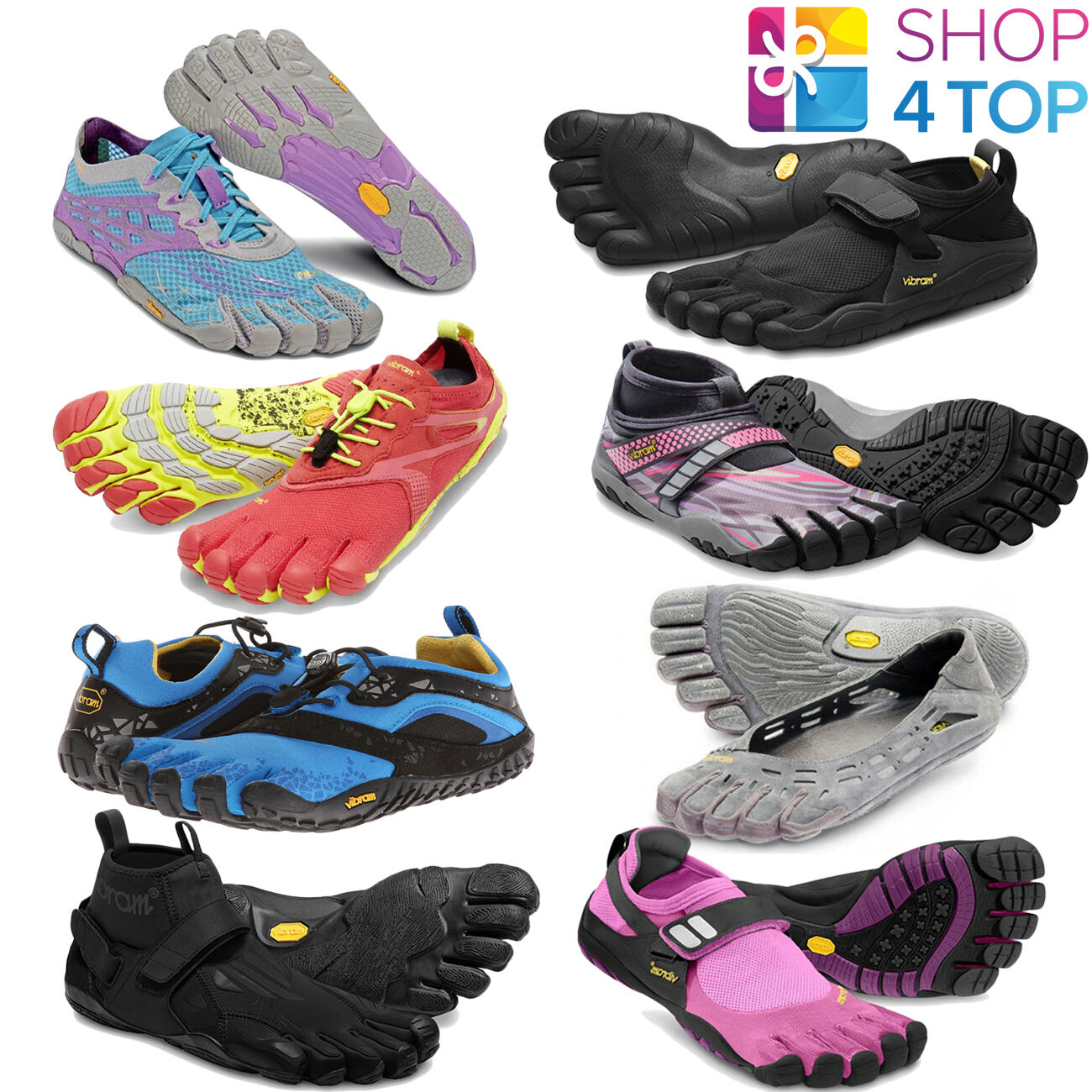 VIBRAM FIVEFINGERS WOMENS SHOES RUNNING BAREFOOT SPORT ATHLETIC FIVE FINGERS NEW