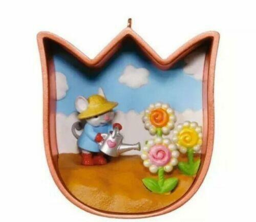 Hallmark Easter Spring Tulip Cookie Cutter Ornament  FREE SHIPPING
