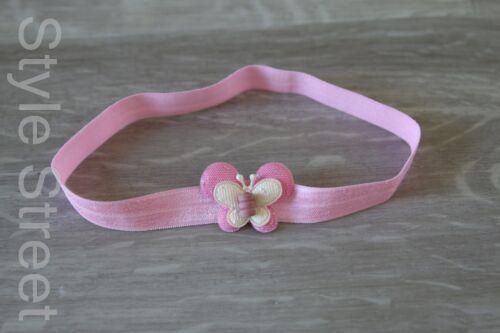 Stirnband Kind Mädchen Schmetterling Haarband Kopfband Butterfly