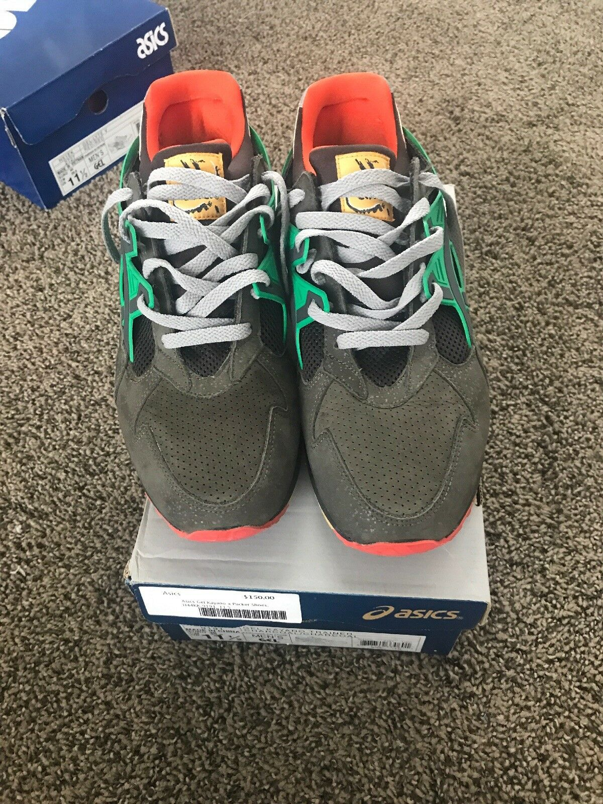 """Asics Gel Kayano Kayano Kayano x Packers shoes """"All Roads Leads To Teaneck"""" 320cef"""