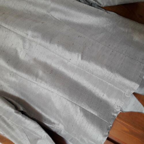 In Tg Camicia Bugiarda Giacca Colore 46 nuovo Seta Grigio Changtung nRY4wp