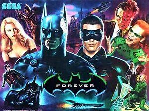 BATMAN FOREVER, FRANKENSTEIN, SPACE JAM, TWISTER Pinball cabinet Light mod GREEN