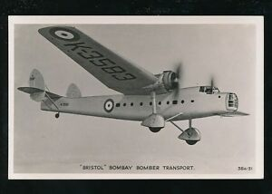 Aircraft-Air-Force-Military-RAF-BRISTOL-BOMBAY-Bomber-Transport-RP-PPC