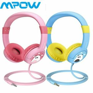 MPOW-Headphones-Wired-On-Ear-Earphone-85dB-3-5mm-Headset-Children-Kid-Gifts-2PCS