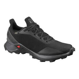 Detalles de Salomon Para Hombres Zapatos Negros Alphacross GTX Trail  Running pn: L40805100- ver título original