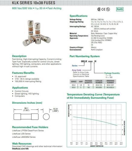 LITTELFUSE cg35.0 L gas tubo de descarga 2p 8kv 10ka