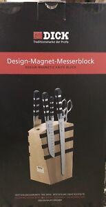 Dick Magnétique Couteau Bloc 5 Pièces Série 1905-eye-catcher-afficher Le Titre D'origine