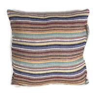 x4 Cushion Cover Pillow Case Soft Cotton Fabric Black Square Home Sofa Bed Deco