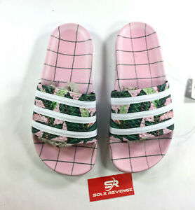 bf9fb68e6dd0 Image is loading New-WOMENS-Adidas-ADILETTE-FARM-Sandals-Pink-Slides-