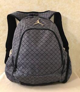 de228c219fd8 Nike Air Jordan Backpack Laptop Sleeves Side Pockets Light Graphite ...