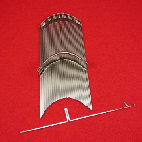50 Neue Nadeln für Brother Strickmaschinen KH820 bis KH970 ++